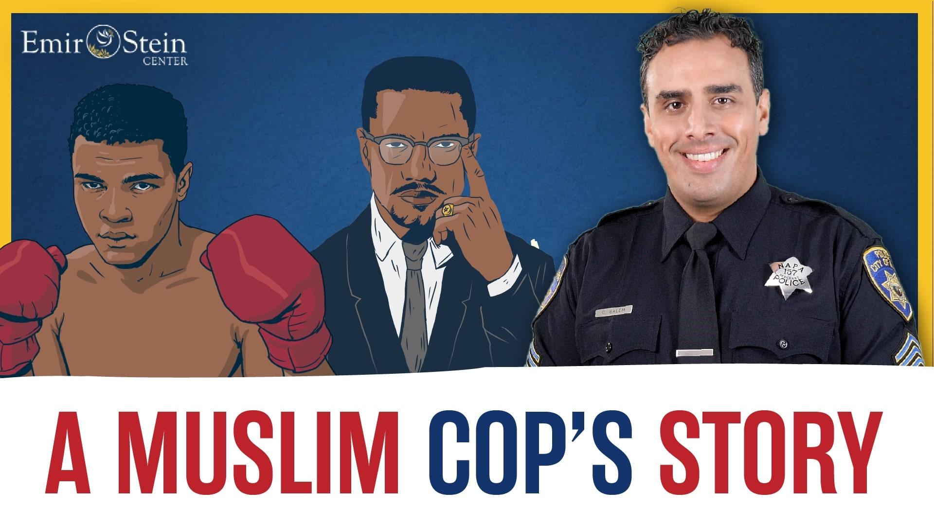 Red, Brown, and Blue: A Muslim Cop's Story